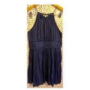 Gianni Bini Navy Halter Dress.